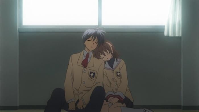 Tomoya to Nagisa (sin Fuko)